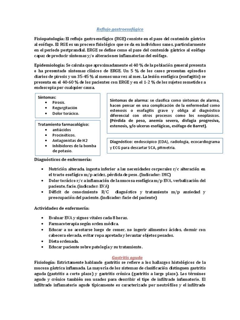 gastritis cronica tratamiento farmacologico