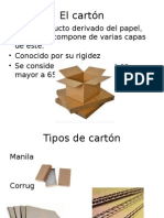 uso del carton en el mercadeo