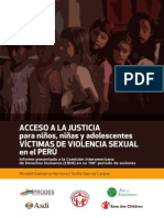 Acceso Justicia NNA vs Informe-CIDH