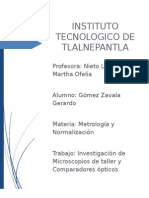 Microscopio de Taller