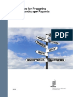 Guidelines for Preparing Patent Landscape Reports