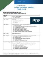 TR400.HRN.Si - Gonzalez Course Agenda