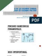 Avances en Rehabilitacion de Columna 2015