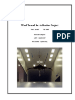 Wind Tunnel Revitalization Project