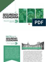 Pacto Por La Seguridad Ciudadana - Version Al 26Ago2013