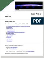 Ellis, Ralph - Assorted Articles PDF