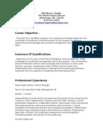 Jobswire.com Resume of bookwormwins