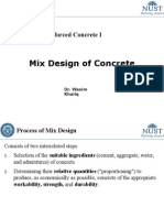 CE 308 Lec 9 Mix Design of Concrete