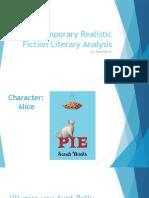 contemporary realistic fiction literary analysis