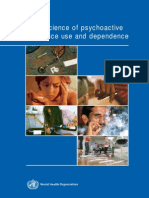 Psychopharmacology of Dependence for Different Drug Classes
