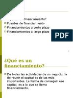 Tipos de Financiamiento