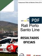 Resultados Oficiais Rali PSL 2010