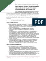 Procesos Peligrosos (Eléctricas, Sustancias, Alturas, Etc.)