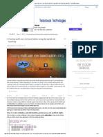 Pdf File From Mysql Using Php