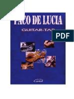 Paco de Lucia - Guitar-Tab