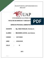 trabajo derecho procesal administrativo.doc