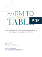 business plan farm2partytable