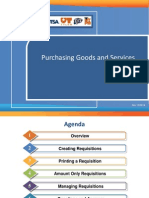Purchasing Goods and Services