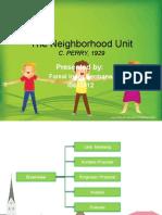 8. the Neighborhood Unit I0613012 Faisal Indra Permana