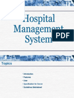 Hospital managment