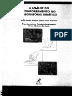 Matos, Tamanari a Analise Do Comportamento No Laboratorio Didatico PDF