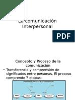La Comunicación Interpersonal