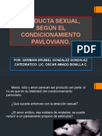 CONDUCTA SEXUAL, SEGÚN EL CONDICIONAMIENTO PAVLOVIANO.pptx