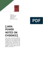 JARA 2012 EVID POWER NOTES.pdf