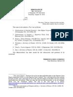 Memo No. 2015-08-02 - Tax Cases