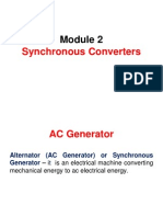 Energy Conversion - Synchronous Converters