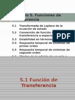 5.1-3 Función de Transferencia