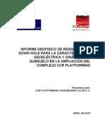 Informe Geofisico CCR