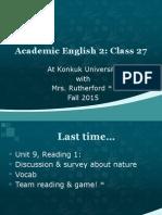 class 27 website