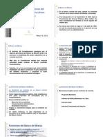 Banxico Finalidades y Funciones Banco de México