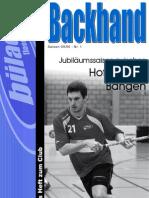 Backhand 2009/2010 Nr. 1