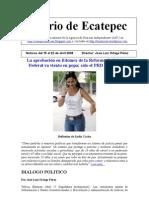 Diario de Ecatepec 15 al 22 de abril