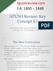 APUSH Review Key Concept 4.1