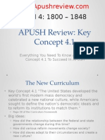 APUSH Review Key Concept 4.1