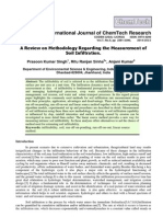 Review on Methodology Regarding the Measurement Of