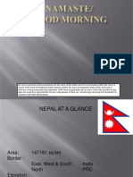 Country Presentation - Nepal