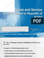 Infrastructure and Service for EPS Worker in Republic of Korea