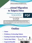 Country Presentation - Taipei,China
