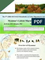 Country Presentation - Myanmar