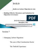 Managing Labour Migration