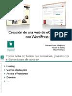 Instrucciones Web E-commerce