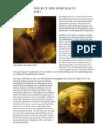 Geschichte Des Portraits Bei Rembrandt