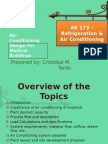 Air-Conditioning Design for Medical Buildings