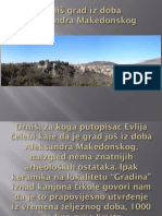 Drnis grad iz doba Aleksandra Makedonskog
