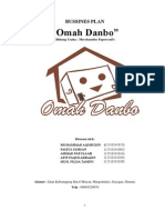 Bussines Plan Omah Danbo