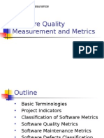 Software Quality Measurement and Metrics (1)